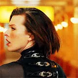 Watch and share Milla Jovovich GIFs on Gfycat