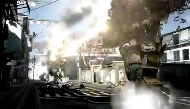 FPS, awesome, mechs, multiplayer, Titanfall GIFs