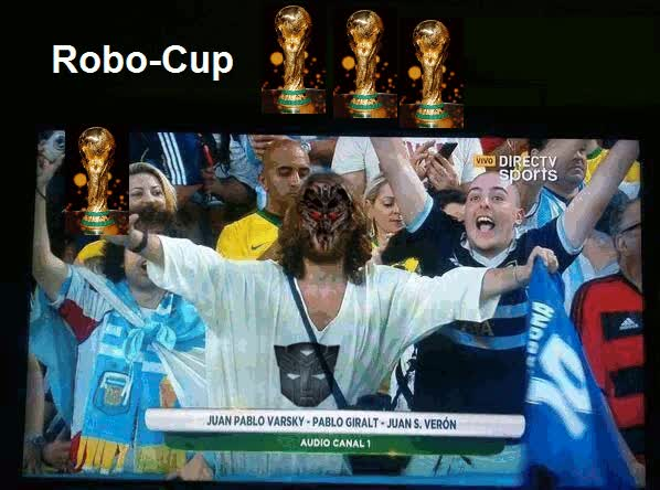 Watch and share Robo-Cup | Super Robo Jesus GIFs on Gfycat