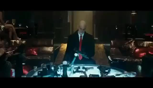 Watch and share Hitman (2007)   Weapons Deal And Shootout Scene (Unrated Version)   HD GIFs on Gfycat