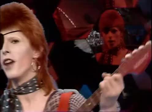 80, All Tags, Golden, Live, Seventies, archive, artists, avro, avrotros, broadcast, dutch, eighties, evergreens, footage, music, performance, rebel, sixties, toppop, tros, David Bowie - Rebel Rebel • TopPop GIFs