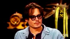 Watch and share Johnny Depp GIFs and Interview GIFs on Gfycat