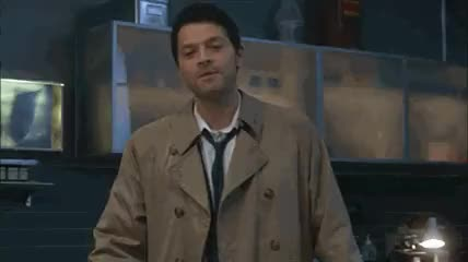 Watch godspeed GIF on Gfycat. Discover more misha collins GIFs on Gfycat