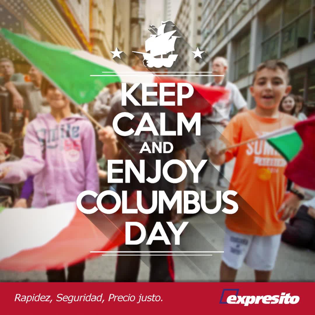 columbus day, expresito, columbus day 2017 motion GIFs
