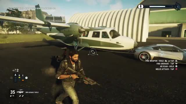 Watch Plane From A Car - JC4 Stunt Competition GIF by ThePyrotechnician (@thepyrotechnician) on Gfycat. Discover more PS4share, Gaming, Just Cause 4, PlayStation 4, Sony Interactive Entertainment, jc4 stunts, just cause 4 epic moments, thepyrotechnician GIFs on Gfycat