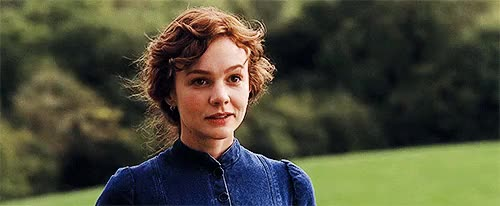 Watch and share Bathsheba Everdene GIFs and Carey Mulligan GIFs on Gfycat