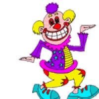 Watch and share DANCING CLOWN animated stickers on Gfycat