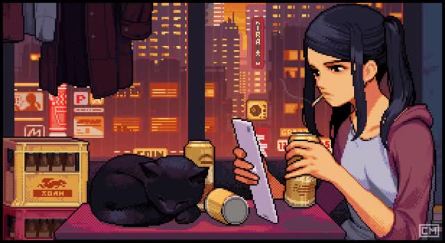 Watch and share Cyberpunk GIFs by Kazumi's Dog on Gfycat