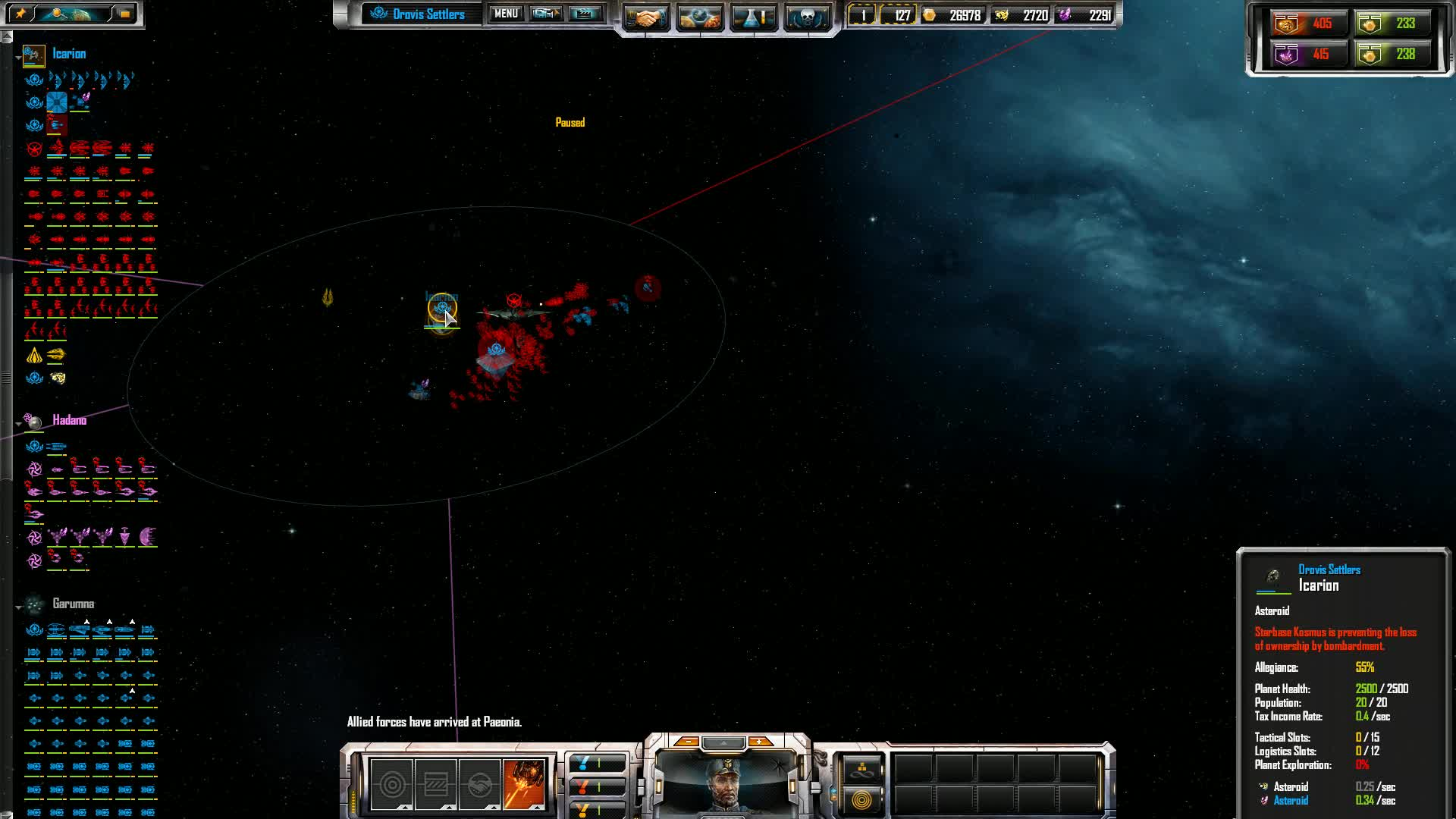 Sins of a Solar Empire: Rebellion | Trading an Asteroid for a Capital GIFs
