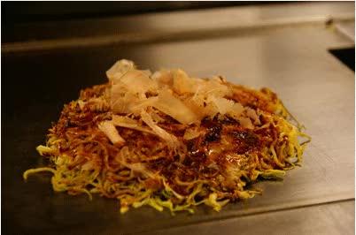 Watch and share Okonomiyaki In Tokyo, Japan 2010 GIFs on Gfycat
