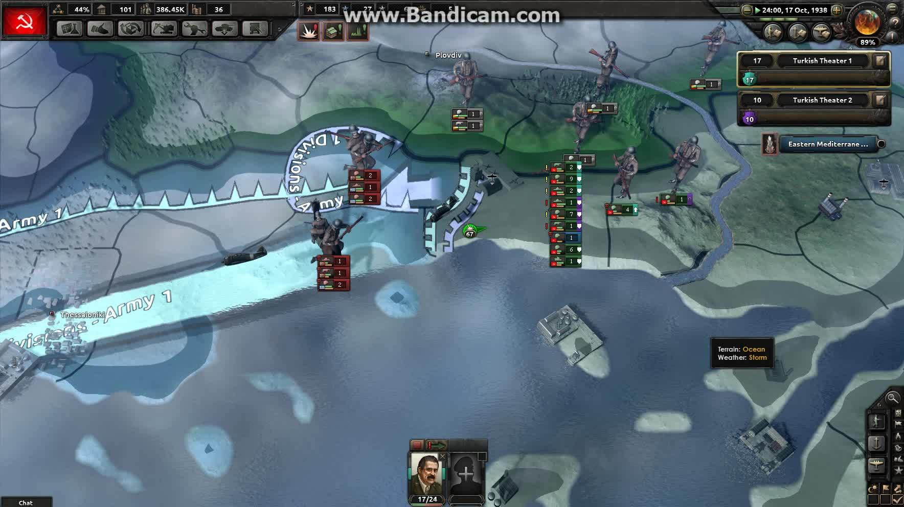 hoi4, unsong, AI making battle unwinnable by resetting the score (reddit) GIFs