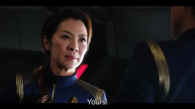 Watch and share Michelle Yeoh GIFs and Star Trek GIFs by starcke on Gfycat