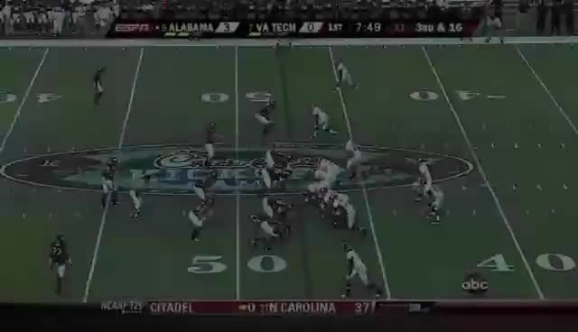 Watch and share Virginia Tech GIFs and Crimson Tide GIFs on Gfycat