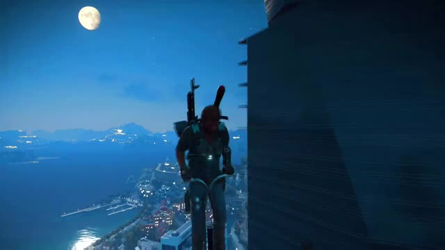 Watch Just Cause 3 Hopping to the mooooon .... Sorry PETA Ep. 1 GIF by @waken4 on Gfycat. Discover more gaming, justcause3, waken4 GIFs on Gfycat