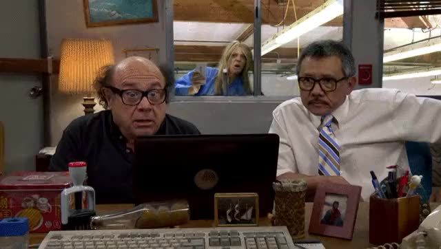 Watch Dee, you gangly, uncoordinated bitch! (reddit) GIF on Gfycat. Discover more Danny Devito, IASIP, iasip GIFs on Gfycat