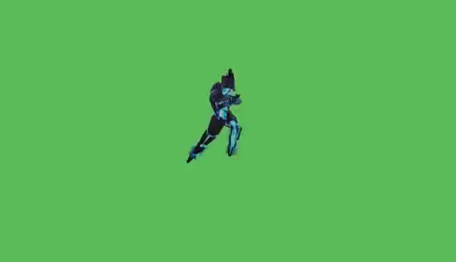 Watch and share GreenScreen | Xerath Dance GIFs on Gfycat