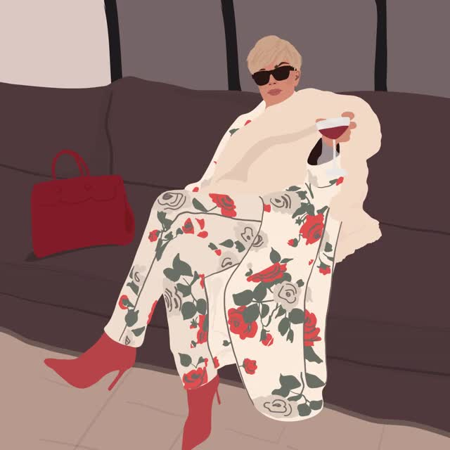 Watch this kris jenner GIF by Reactions (@sannahparker) on Gfycat. Discover more blonde, diva, fabulous, glam, julie winegard, kris jenner, wine GIFs on Gfycat