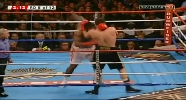 Watch Lennox Lewis vs Vitali Klitschko SkySports1 GIF on Gfycat. Discover more related GIFs on Gfycat