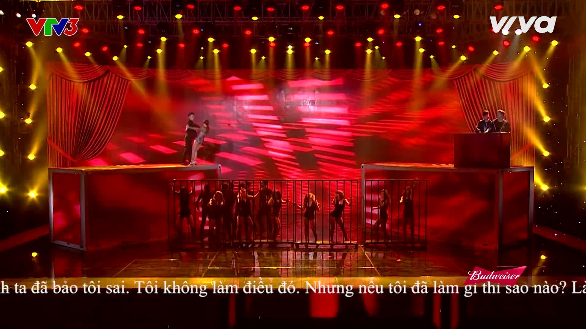 Không thể tin được, Yến Trang, Bảo Thy, Đông Nhi đều có những cú ngã thần thánh ở Remix New Generation