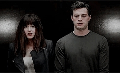 Anastasia Steele, Christian Grey, Dakota Johnson, Fifty Shades, Fifty Shades Movie, Fifty Shades of Grey, Jamie Dornan, christianxana, dakotajohnson, fsog, jamiedornan, mine, mine: edit, mine: gif, onlydornan GIFs