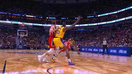 Watch and share LeBron James — Los Angeles Lakers GIFs by Off-Hand on Gfycat