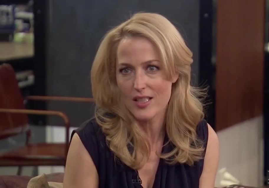 hairflip, X-Files Scully (Gillian Andersen) Hair flip GIFs