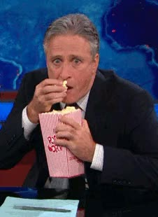 Watch Amused GIF by Reaction GIFs (@sypher0115) on Gfycat. Discover more Jon Stewart, amused, entertained, interested GIFs on Gfycat