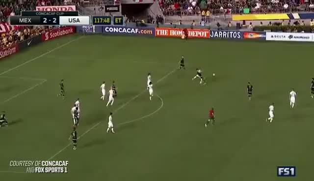 Watch and share MNT Vs. Mexico: Paul Aguilar Goal - Oct. 10, 2015 GIFs on Gfycat