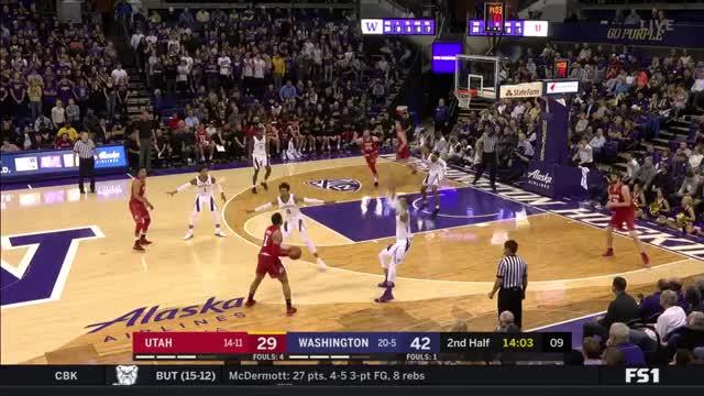 Watch Utah-UW #17 GIF on Gfycat. Discover more basketball GIFs on Gfycat
