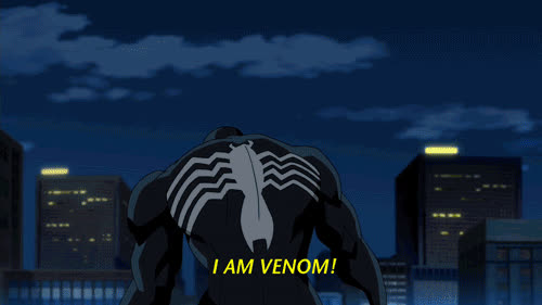 eddie brock, superhero, superheroes, venom, Animated Image Of Venom-bn825 GIFs