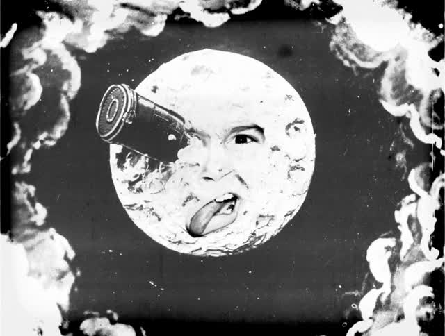 Watch and share Le Voyage Dans La Lune GIFs on Gfycat