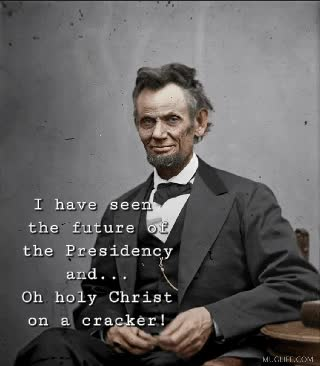 Watch and share Abe Sees 2020 GIFs on Gfycat