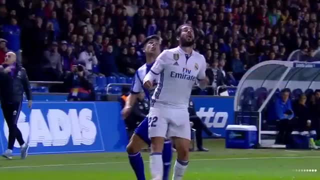 Watch and share Isco's Crazy Heel Pass GIFs on Gfycat