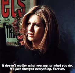 Watch and share Rachel Green GIFs and Friendsedit GIFs on Gfycat