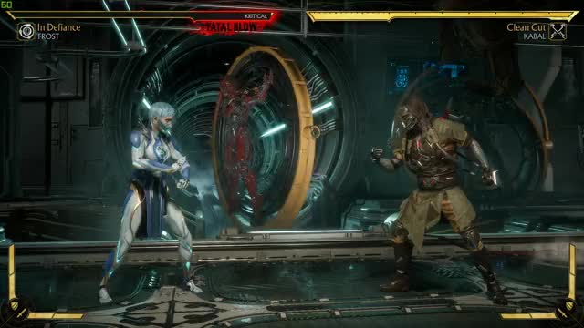 Mortal Kombat 11 - Frost Fatal Blow (60 FPS) Test GIF by