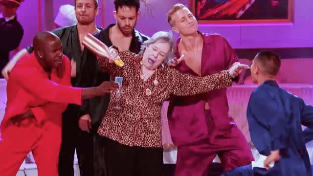 Watch this party GIF by The GIF Smith (@sannahparker) on Gfycat. Discover more bruno mars, champagne on ice, kathy bates, lip sync battle, party, that's what i like GIFs on Gfycat