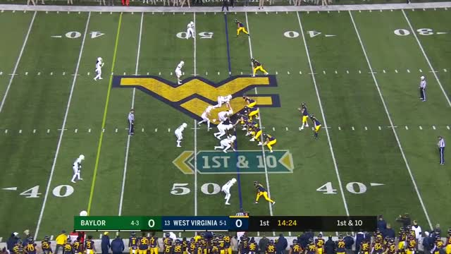 Watch West Virginia TD GIF by Pistols Firing (@pistolsfiring) on Gfycat. Discover more baylor, baylor bears, bears, cfb, cfb highlights, mountainers, ncaa football, ncaa highlights, west virginia, west virginia mountaineers GIFs on Gfycat