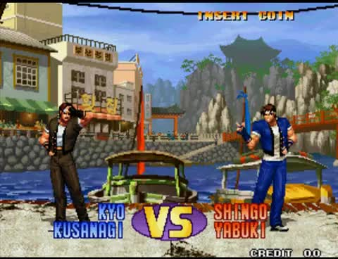 Watch and share Kyo Vs Shingo KOF 98 GIFs on Gfycat