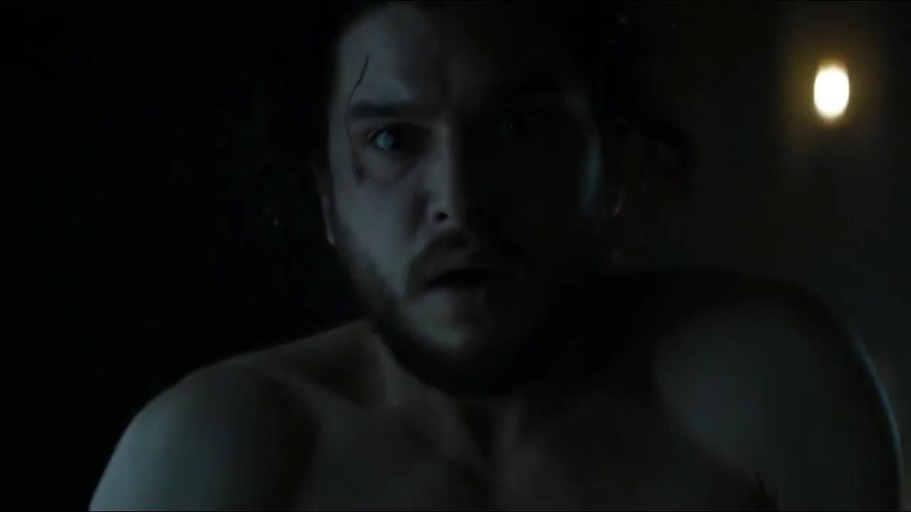 Jon Snow awakes (S06E03) GIFs