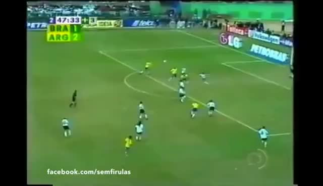 Watch and share Brasil X Argentina - Copa América 2004 - Gol De Adriano GIFs on Gfycat