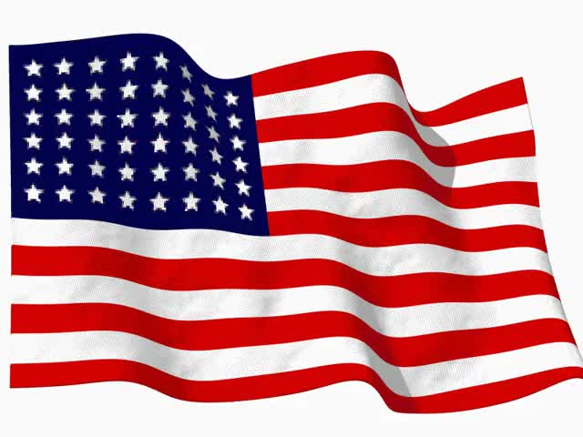 Watch and share United States Of America Flag Waving GIFs on Gfycat