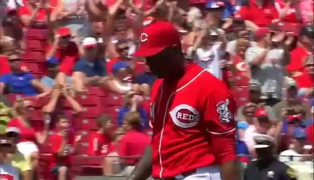 Watch and share Aroldis Chapman GIFs and Anthony Rizzo GIFs on Gfycat