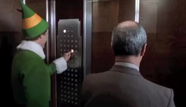 Watch this trending GIF on Gfycat. Discover more Elves, christmas, comedy, santa, will ferrell GIFs on Gfycat