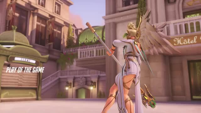 Watch and share Overwatch GIFs and Mercy GIFs by seysey on Gfycat