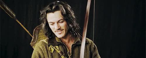 Watch and share Bard The Bowman GIFs and Luke Evans GIFs on Gfycat