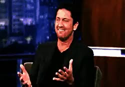 Watch and share Hot Male Celebs GIFs and Gerard Butler GIFs on Gfycat