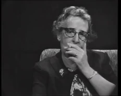 Watch and share Hannah Arendt Im Gespräch Mit Günter Gaus GIFs on Gfycat