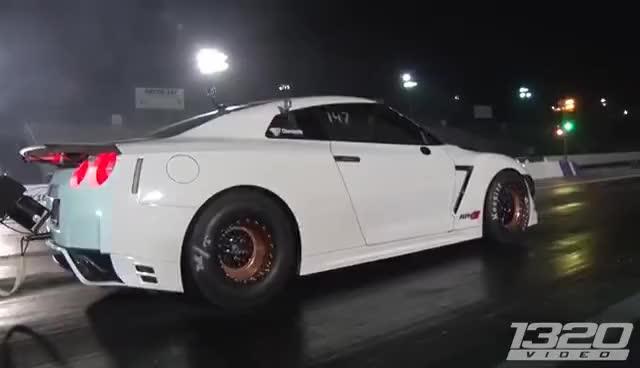 Watch and share ALPHA G Nissan GT-R - 2000+hp DRAG CAR! GIFs on Gfycat