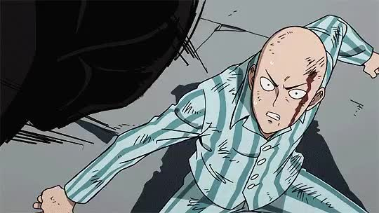 Watch and share One Punch Man GIFs on Gfycat