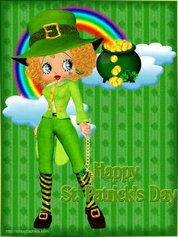 Watch and share Betty Boop Pictures Archive: St. Patrick's Day GIFs on Gfycat